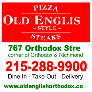 Old English PIzza