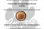 Cougars Bracelet FLYER