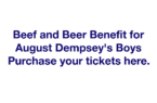 Beef and Beer Benefit